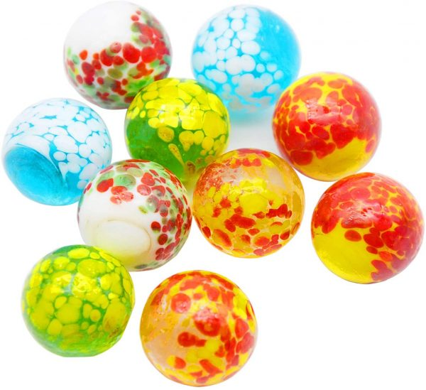 10 Pcs Doted Marbles