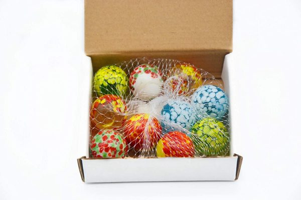 10 Pcs Doted Marbles A