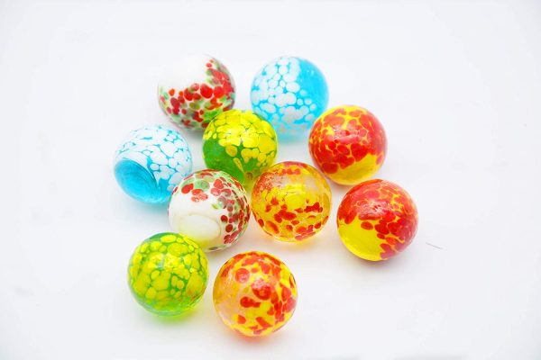 10 Pcs Doted Marbles B