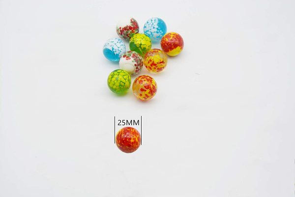 10 Pcs Doted Marbles C