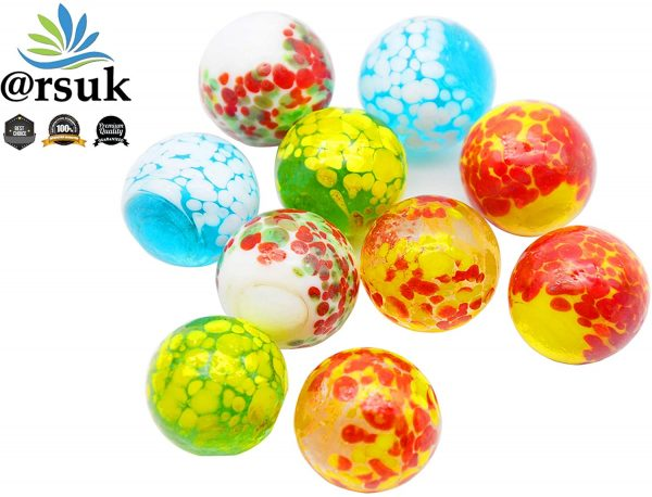 10 Pcs Doted Marbles D