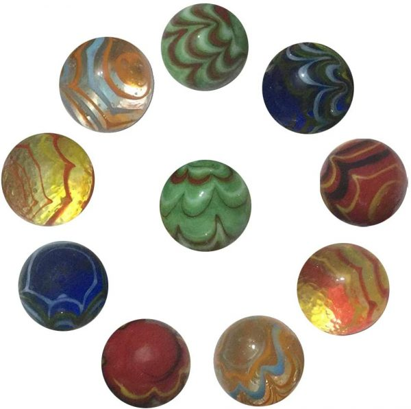 10pcs Handmade Marbles B