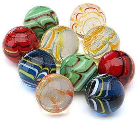 10pcs Handmade Marbles