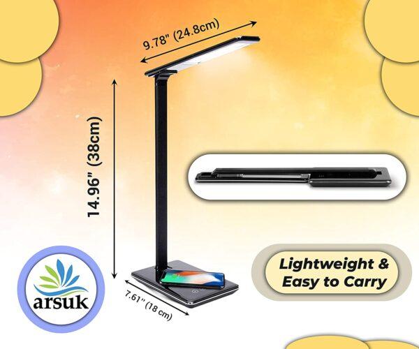 LED Desk Lamp Black B