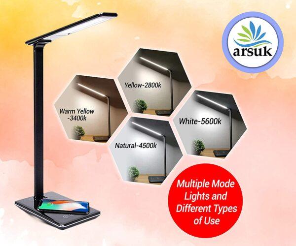 LED Desk Lamp Black C