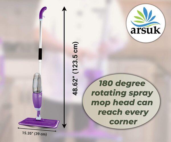 Spray Mop Green Purple F