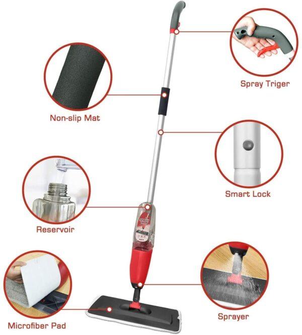 Spray Mop Purple F